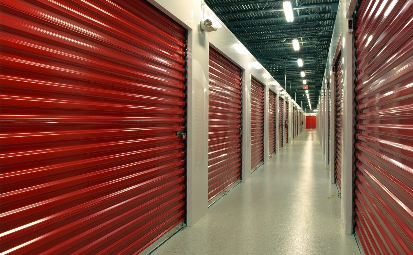 Indoor Newcastle self storage facility